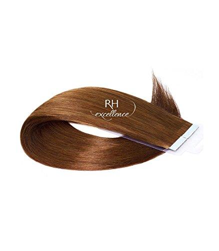 Extension bande adhésive - Extension cheveux Blond foncé doré - 35/40 cm