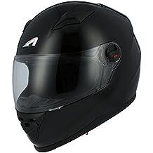 Astone Helmets gt2m-bkm casco Moto Integral GT Gloss, Color Negro Brillante, talla M