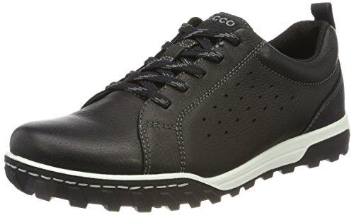Ecco Urban Lifestyle, Chaussures de Randonnée Basses Homme Noir (Black/black)