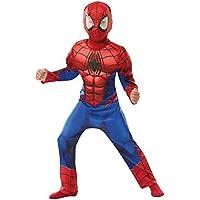 Rubies 640841S SPIDERMAN Marvel - Disfraz infantil de Spider-Man de lujo, para niños