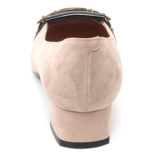 B4416 decollete donna TOD'S T30 scarpa beige/nero shoe woman Beige/Nero