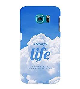 Life Quote Hard Polycarbonate Designer Back Case Cover for Samsung Galaxy S6 G920I :: Samsung Galaxy G9200 G9208 G9208/SS G9209 G920A G920F G920FD G920S G920T