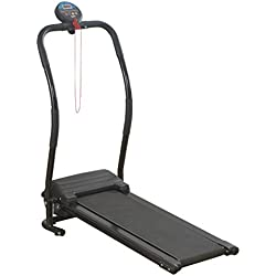 Body Fit Folding Electric Treadmill. Super Compact Fold Down Lightweight Design.