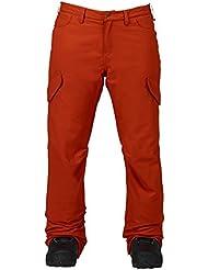 Burton Pantalón de snowboard, otoño/invierno, mujer, color Picante, tamaño S