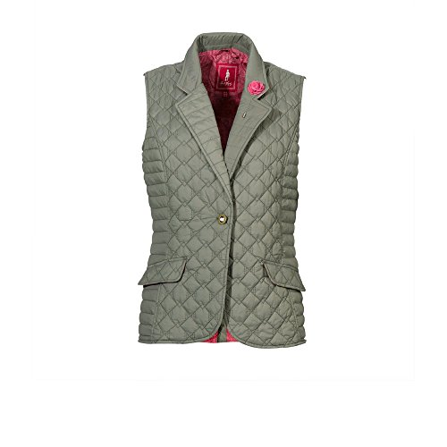 Jack Murphy donna' Esme Quilted bodywarmer, impermeabile Contemporary Green