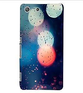 ColourCraft Lovely Pattern Design Back Case Cover for SONY XPERIA M5 E5603 / E5606 / E5653