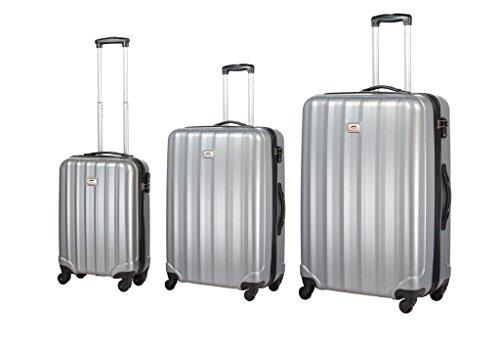 set-trolley-ghepard-box-4-grigio-silver-4-ruote
