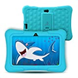 "Dragon Touch Kinder Tablet, Y88X Plus Kindertablet Pad Lerntablet für Kids, Android 8.1 OS 7 ""IPS-Display 1 GB Ram 16 GB Rom Kidoz & Google Play vorinstalliert mit Kid-Proof-Hülle (Blau)"