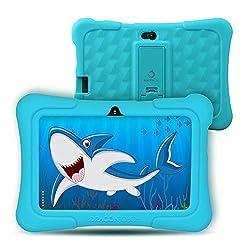 "Dragon Touch Kinder Tablet, Y88X Plus Kindertablet Pad Lerntablet für Kids, Android 8.1 OS 7 ""IPS-Display 1 GB Ram 16 GB Rom Kidoz & Google Play vorinstalliert mit Kid-Proof-Hülle (Blau)"