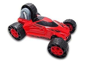Amewi 22225-Stunt Car 5Wheels 1: 184WD RTR, vehículos, Color Rojo