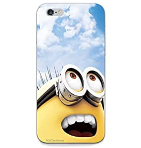 MiiCreations 3D Printed Back Cover for Apple Iphone 6,Minion