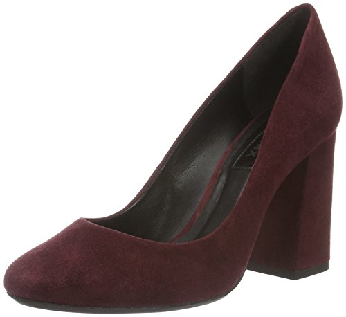 Bronx Damen Aleza Pumps, Rot (Bordeaux 34), 40 EU (7UK)