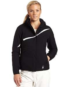Spyder Women's Amp Jacket, Black/White, 6