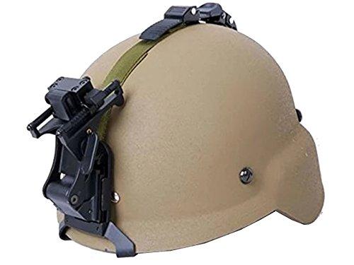 Tactical M88Helm Night Vision NVG Mount Set Softair Militär Paintball Tan