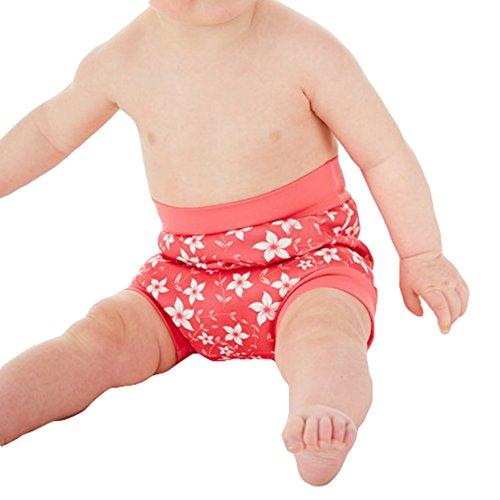 Baby Jungen Mädchen Badeshorts Schwimmwindel Waschbar Windelhose UV-Schulz Schwimmhose Badewindelshorts Schwimmbekleidung Kleinenkind Bade-Windel Rosa Dunkelblau Hellblau Rosenrot