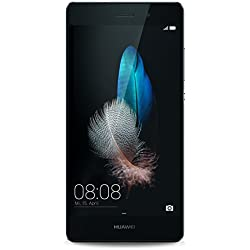 Huawei - P8 Lite - Smartphone Débloqué - 4G (Ecran : 5 pouces - 16 Go - Double SIM - Android 5.0 Lollipop) - Noir