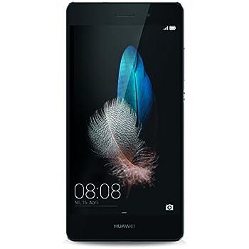 """Huawei P8 Lite - Smartphone de 5"""" (HiSilicon Kirin 620 Octa Core 1.2 GHz, 2 GB RAM, 16 GB, Android L, 13 MP), color negro"""