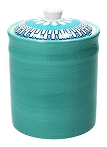 Tognana Porcellane rx1baa14355 récipient Universel 1.06L céramique Bol de Cuisine – Plats de Cuisine (récipient Universel, 1,06 L, Céramique, Bleu, Couvercle Amovible, 125 mm)