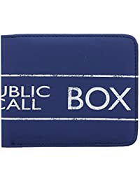 Doctor Who Tardis Bi-Folding Wallet Police Public Call Box