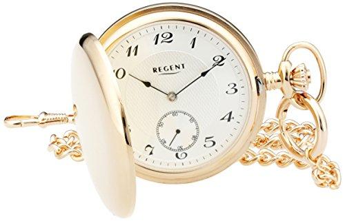 Regent Unisex-Armbanduhr Analog Handaufzug 11330075