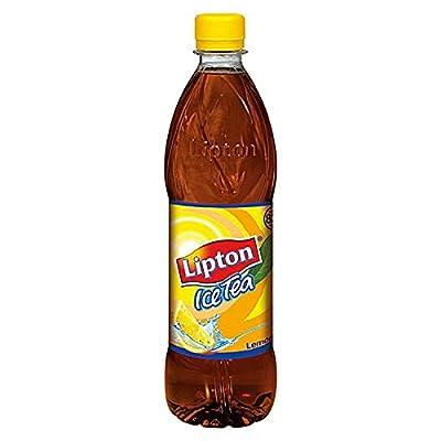 24 Flaschen Pet Lipton Ice Tea Lemon Eistee 0.5L Eisteegetränk mit erfrischendem Zitronengeschmack
