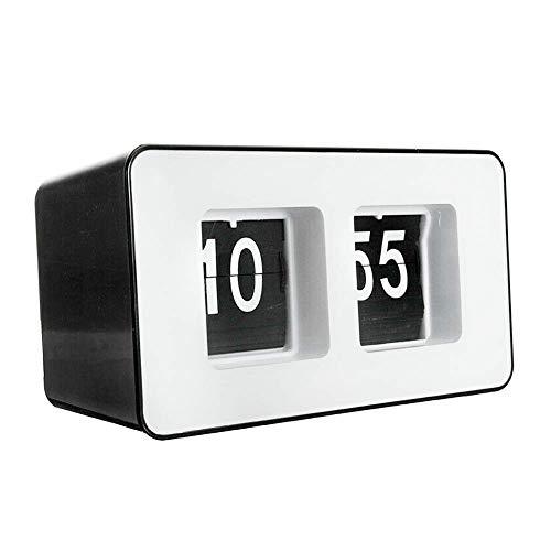 Auto FILP Reloj, Colgar en Pared/Sobremesa Reloj, Corea Estilo Decorativo Volteretas Abajo...