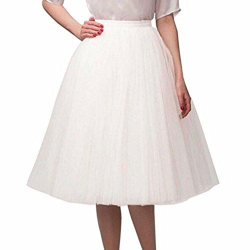 Sarahbridal - Jupe - Femme Blanc