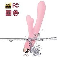 Vibratoren für Sie Klitoris und G-punkt Dual Motor 8 Vibrationsmodi Dildo Vibrator für Erotik Spielzeug für Paare