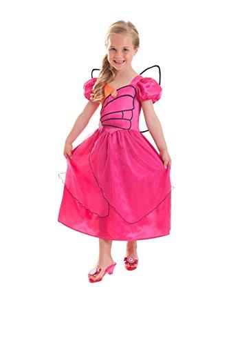 joker CA13734V3-M - Barbie Mariposa Costume di Carnevale in Busta