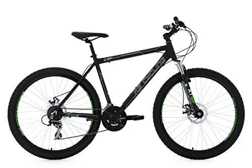 KS Cycling Herren Mountainbike Mtb Xceed RH 53 cm Fahrrad, Schwarz, 26