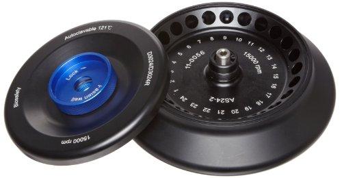 scilogex 19400002Rotor-Kit mit Abdeckung Befestigungsclips und hält, O-Ring, 15.000rpm, 24x 2ml Reagenzgläser
