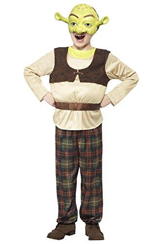nzessin Fiona Kostüm Offiziell Lizenziert Kostüm Outfit Alle Größen - Shrek, Age 4 to 6 Years (Fiona Oger Kostüm)