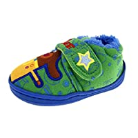 Lora Dora Hey Duggee Boys Fleece Lined Slippers Booties