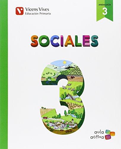 Sociales 3 andalucia (aula activa): 000001