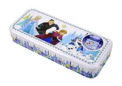 Disney Markwins 97016, Estuche Frozen con Maquillaje, Azul, 1 unidad de Markwins
