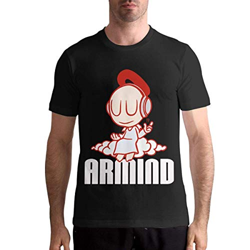 Quitelike Armin Van Buuren T Shirts Men's Tops Short Sleeved Round Neck Cotton Tee Tops Männer T-Shirts -