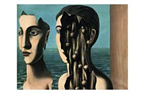 Le DOUBLE Secret, c.1927Art Poster Print by Rene Magritte, 44x 28