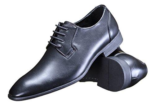Galax - Chaussure Derbie Gh3055 Black Noir