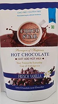 Chocostar VANILLA Hot Chocolate Drink Powder 500g