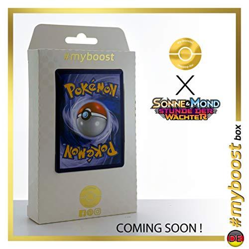 Kapu-Riki-GX (Tapu Koko-GX) 153/145 Arcoíris Secreta - #myboost X Sonne & Mond 2 Stunde Der Wachter - Box de 10 Cartas Pokémon Aleman