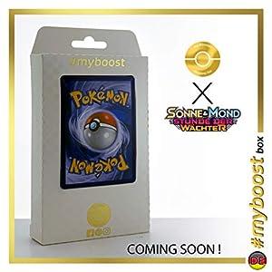 Alola-Geowaz (Golem de Alola) 42/145 Holo - #myboost X Sonne & Mond 2 Stunde Der Wachter - Box de 10 Cartas Pokémon Aleman