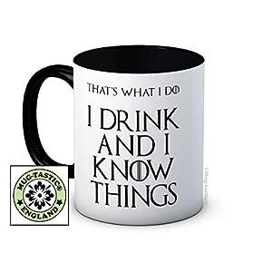 I Drink and I Know Things - Game of Thrones - Taza De Café De Cerámica 5
