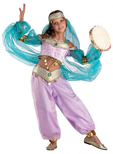Orientalische Tänzerin Bauchtänzerin Queen of Orient, (Zwei Jungs Kostüme Für Halloween Einfache)