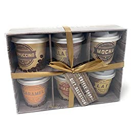 Coffee Collection Mini Travel Takeout Cups Gift Set