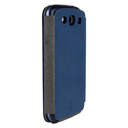 Fenice 'Classico'Galaxy S3 Blue Flip Cover I9300 & I9300i (Neo) Made in Korea