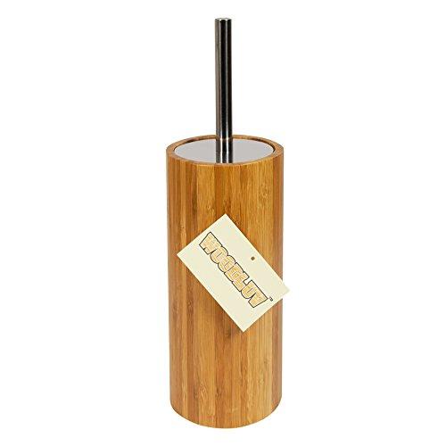 Bambus WC-Bürste und Bürstenhalter