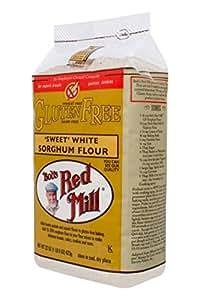 Bob's Red Mill, 'Sweet' White Sorghum Flour, Gluten Free, 22 oz (1 lb 6 oz) 623 g