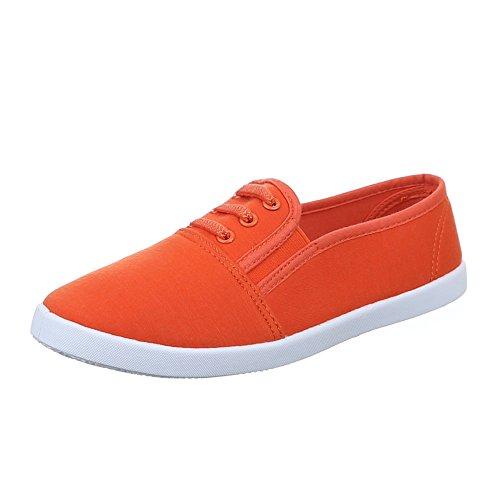 Ital-Design , Chaussures pour les loisirs  femme Orange - Orange