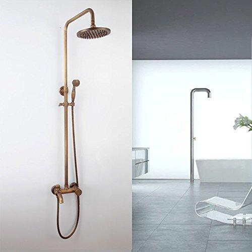 Preisvergleich Produktbild saejj-antique Continental Antik Ware Deluxe Kupfer Dusche Dusche Set Dusche
