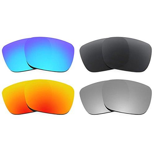 Revant Ersatzlinsen für Spy Optic Helm Polarisiert 4 Paar Kombipack K018